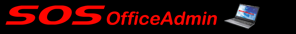 SOSofficeadmin - Office Assistance - The solution to all your office headaches
